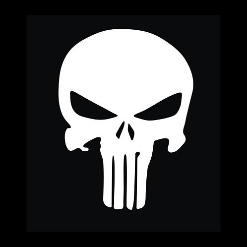 White Punisher Skull (SK11)