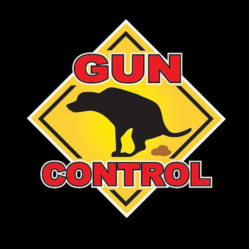 Poop On Gun Control (G156)