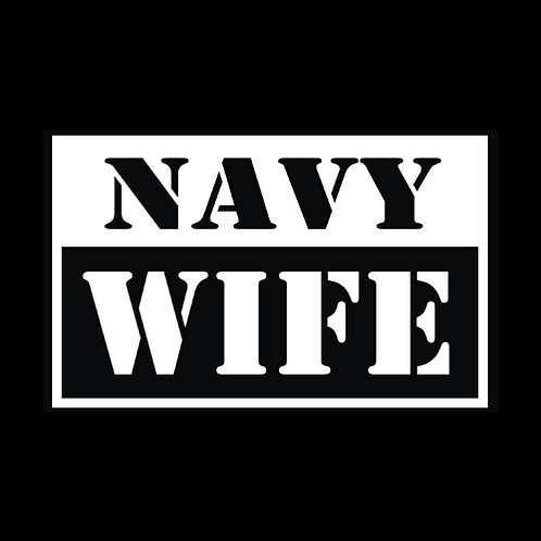 Navy Wife - Square (N36)