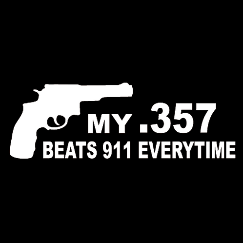 My .357 Beats 911 Everytime (G134)