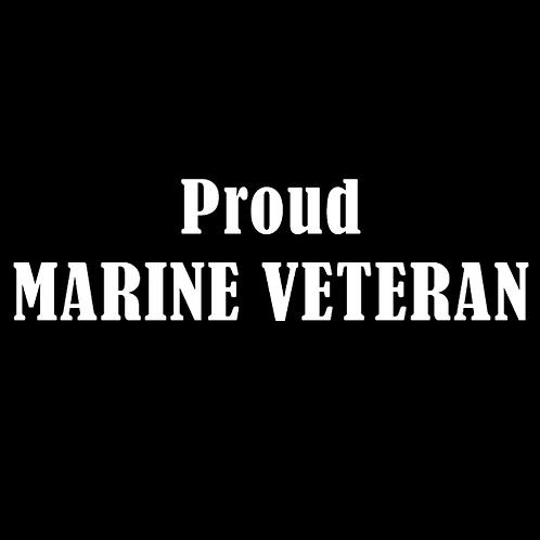 Proud Marine Veteran (M7)