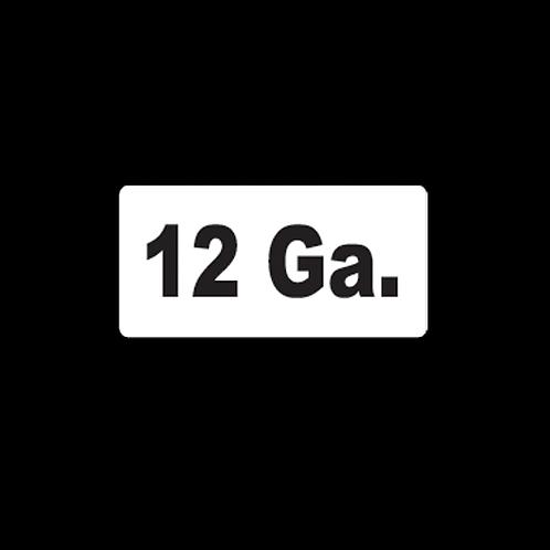 12 Ga. (AM16)