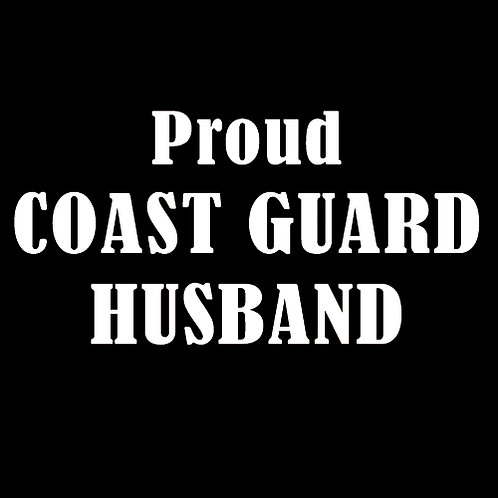 Proud Coast Guard Husband (CG4)