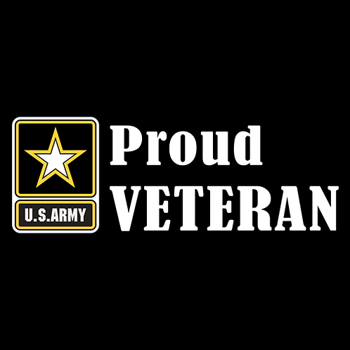 Proud Army Veteran - Logo (A30)