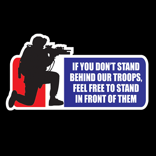 Stand Behind Our Troops - Color (MIL13)
