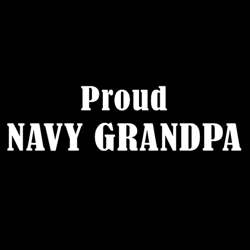 Proud Navy Grandpa (N12)