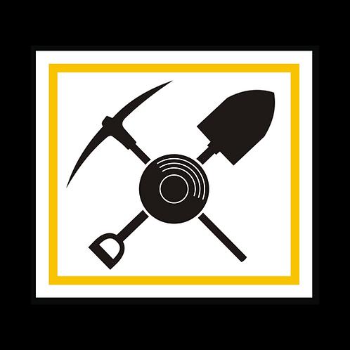 Pick, Shovel, Pan - Color (AU5)