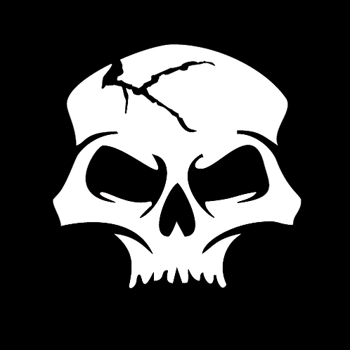 Cracked Skull - Forward (SK7)