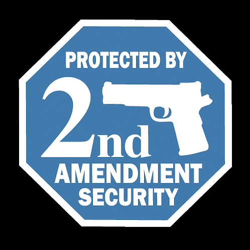 2nd Amendment Security - Blue/White (G40)