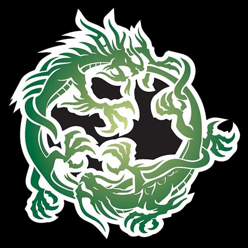 Green Dancing Dragons (AN28)