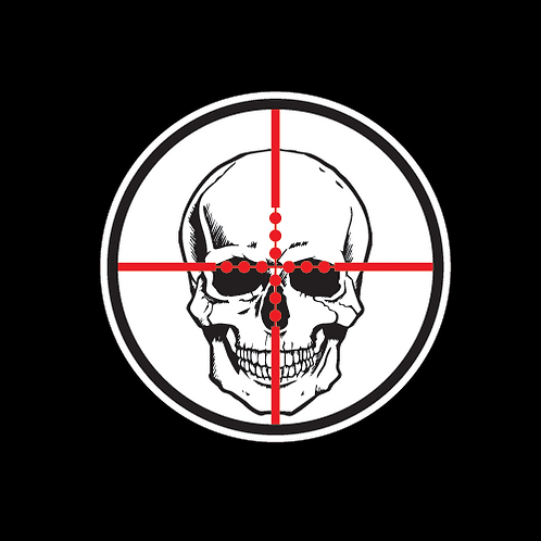 Skull In Crosshairs (G176)