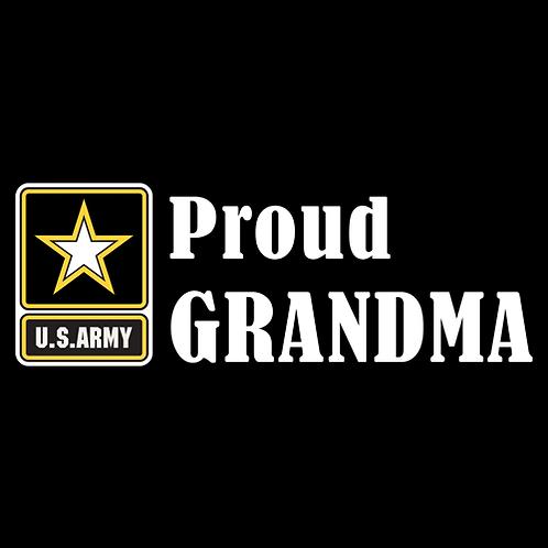 Proud Army Grandma - Logo (A24)