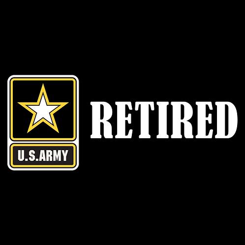 Army Retired - Logo (A31)