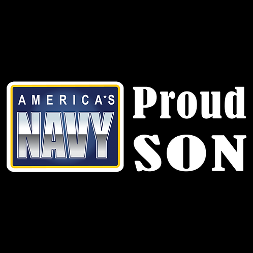 Proud Navy Son - Logo (N29)