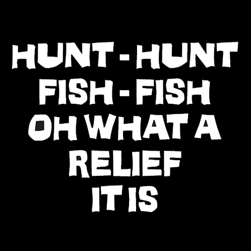 Hunt Hunt - Oh What A Relief It Is (H12)
