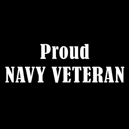 Proud Navy Veteran (N7)