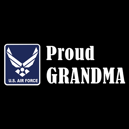 Proud Air Force Grandma - Logo (AF21)