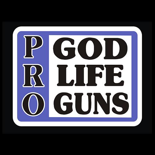 Pro God Life Guns - Color (G282)