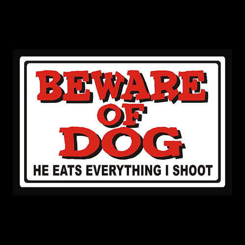Beware Of Dog - Color (G362)