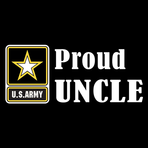 Proud Army Uncle - Logo (A27)