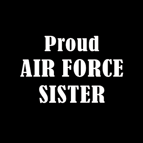 Proud Air Force Sister (AF12)