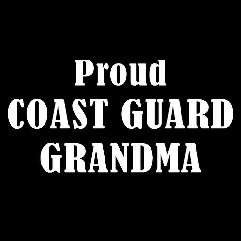 Proud Coast Guard Grandma (CG15)