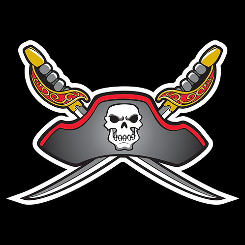 Pirate Skull And Hat (SK10)