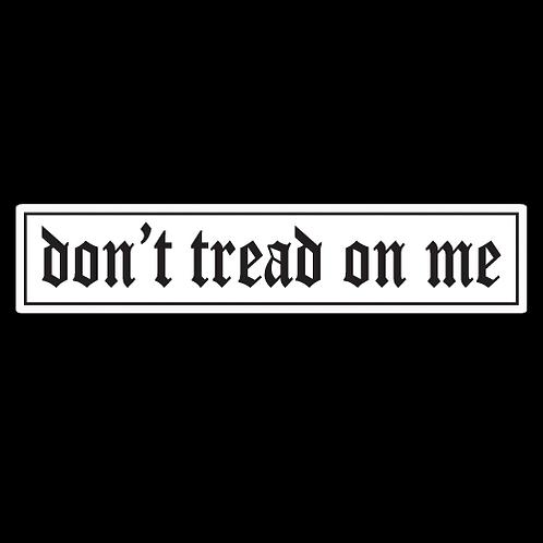 Don't Tread On Me - White (MIL43)
