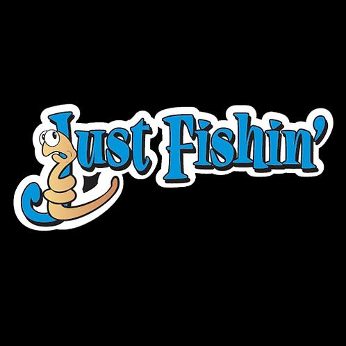 Just Fishin' - Blue (F9)