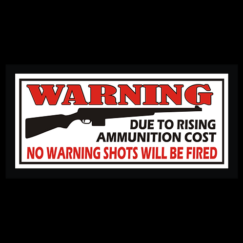 No Warning Shots - AR (G251)