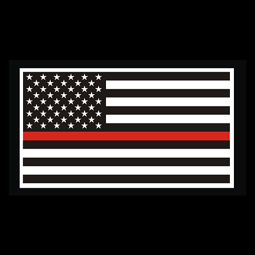 Thin Red Line Flag (MIL36)