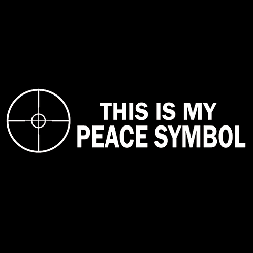 This Is My Peace Symbol (G181)