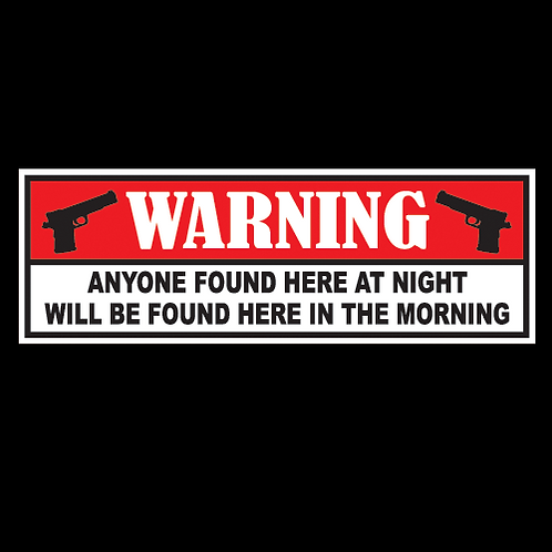 Anyone Found At Night (G142)