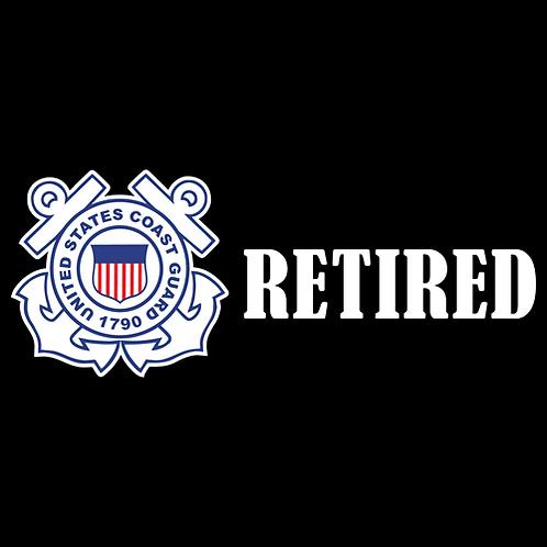 Coast Guard Retired - Logo (CG29)