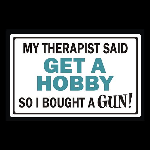 Get A Hobby - Square (G359)