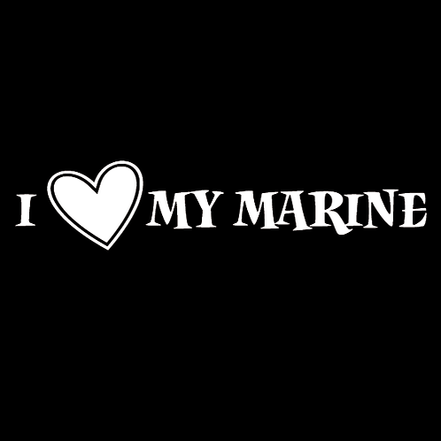 I Love My Marine - Line (M6)