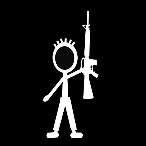 Teenage Boy Stick Figure - AR (G372)