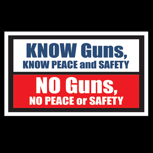 Know Guns, Know Peace (G121)