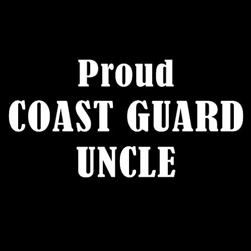 Proud Coast Guard Uncle (CG11)