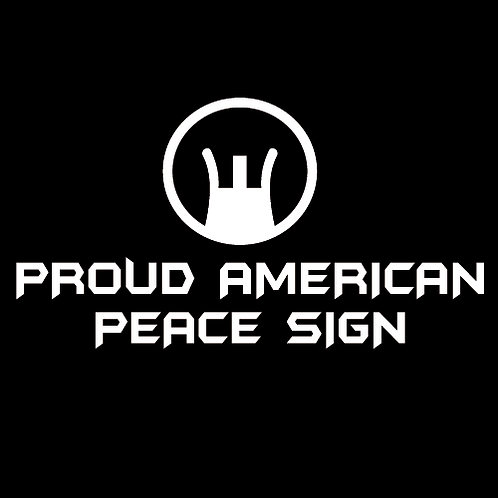 Proud American Peace Sign (G28)