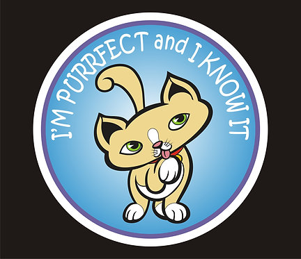 I'm Purrfect & I Know It (PC3)