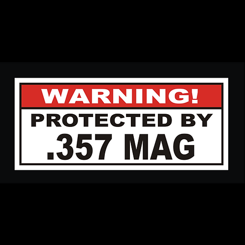 Protected By .357 MAG (G233)