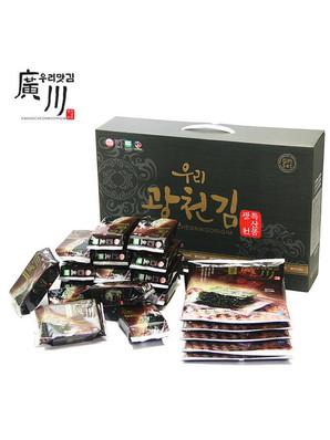 """""""광천김""""중소벤처기업부 왕홍 판매전 통합 운영"""
