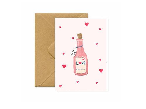 Love Potion Greetings Card