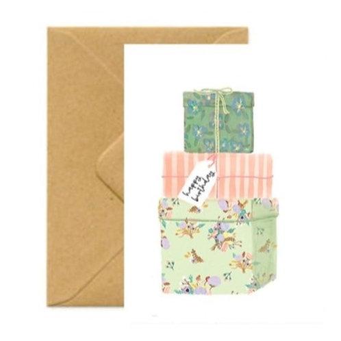 Gifts Birthday Greetings Card