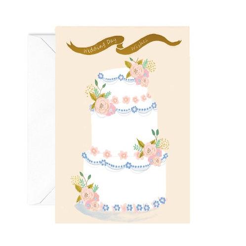 Wedding Cake Greetings Card