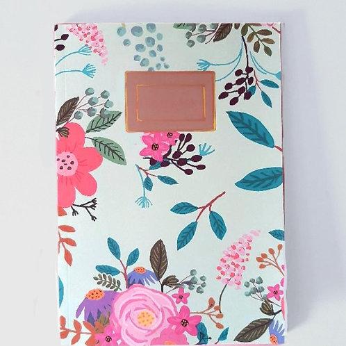 Wildflower Woodland Print Notebook