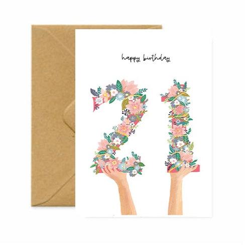 Happy Twenty-One