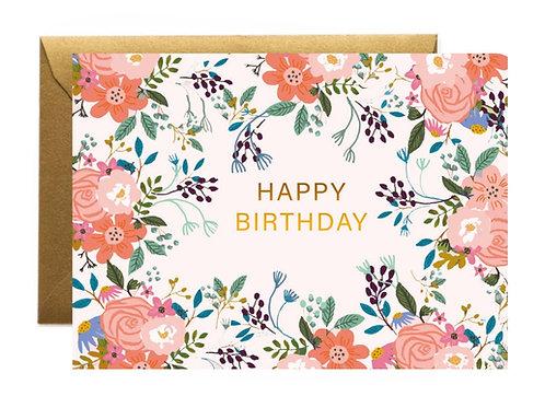 Heidi Birthday Greetings Card