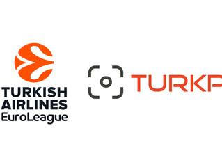 EuroLeague Basketball Türkiye'de çözüm ortağı olarak yeniden TURKPIX'i seçti.